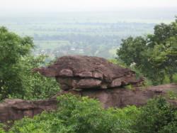 Marble Rock Pachmarhi and Kanha