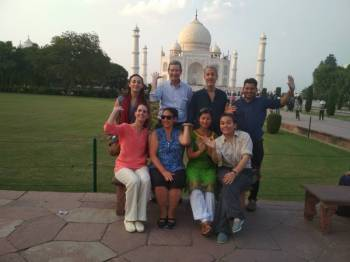 Taj Mahal Day Tour from New Delhi ( Gatiman Express)