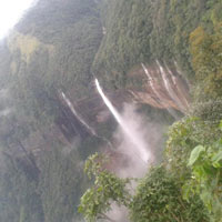North East tour  (Cherrapunji - The Rain Capital of the World)