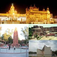 Delhi - Patiala - Chandigarh - Anandpur - Amritsar Tour