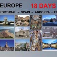 Europa - Lisboa - Paris Tour