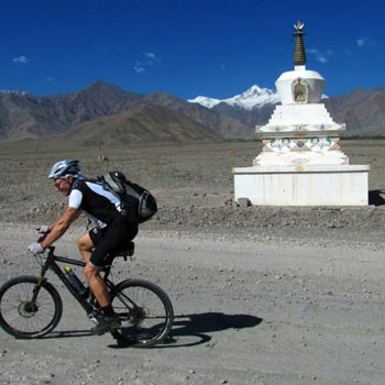 Cycling Across the Himalayas Package