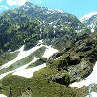 Kashmir Kolahi Glacier Trek