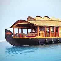 Lifetime Alleppey Boathouse Honeymoon Tour package