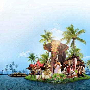 Kerala 4 Night 5 Days Package - Thekkady,Munnar,Alleppey,