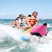 Bali Water Sports and Uluwatu Tour