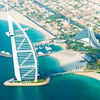 Classic Dubai with Ferrari World