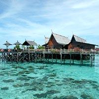 Discover Snorkeling & Kayaking at Gaya Island Tour