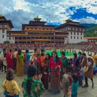 Mask Dance Festival in Thimphu Package