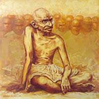 Gandhi's Pag Mark Gujarat