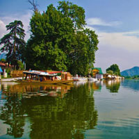 Houseboat in Srinagar, Nagin Lake