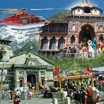 Badrinath Kedarnath By Helicopter Tour