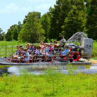 Wild Florida Airboat Ride And Shopping Tour