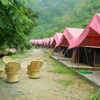 1 Night Stay Deluxe Camp Tour Package