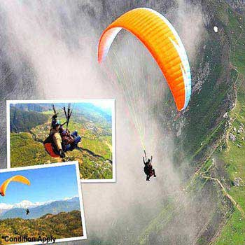 Paragliding At Nainital Tour