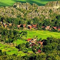 Panorama Toraja charming  Tour