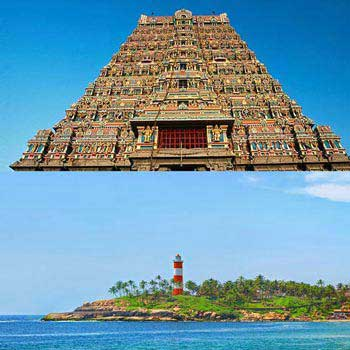 Magical Tamilnadu with Kerala Tour