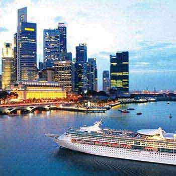 Fly cruise offer on Royal Caribbean with Singapore a...