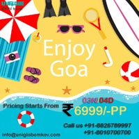 Book Go ‪‎Goa‬ the land of beaches Tour