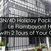 3N/4D Holiday Package at Le Flamboyant Hotel Rodrigues Island on Full Board