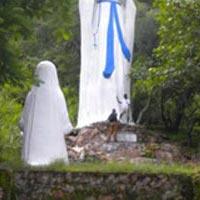 Christian prigilmage Kpando grotto Tour
