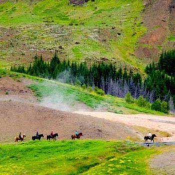 Horses & Hot Springs One Day Package