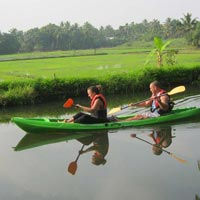 My Kayaking Adventure Kerala Tour