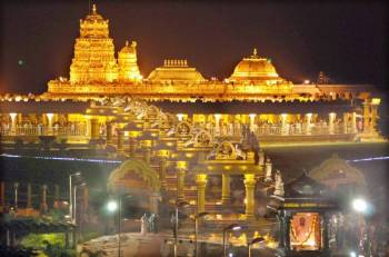 Chennai to Tirupati Via Vellore Golden Temple