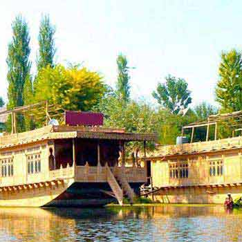 Kashmir Deluxe Houseboat/Hotel Package