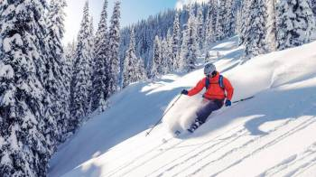 Skiing at Auli Tour Package