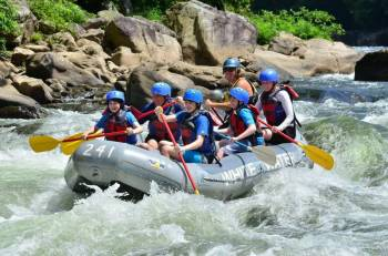 River Rafting Weekend Tour