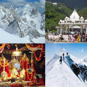 Kashmir with Vaishno Devi Tour