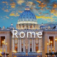 Italy, Rome With Italian Tuscany Tour