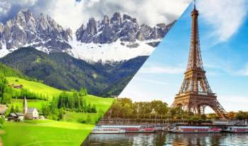 Switzerland and Paris