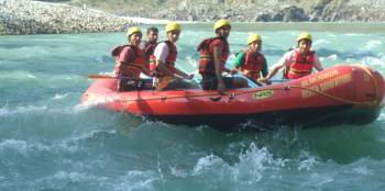 Rishikesh Camping and Water Rafting Tour