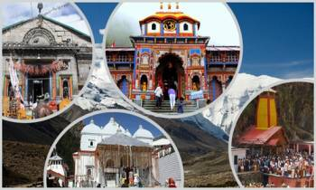 Sh.Yamnotri - Gangotri - Kedarnath - Badrinath Tour