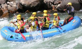 Rafting With Beach Camping Tour