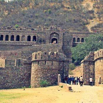 Bhangarh Fort with Sariska National Park Tour