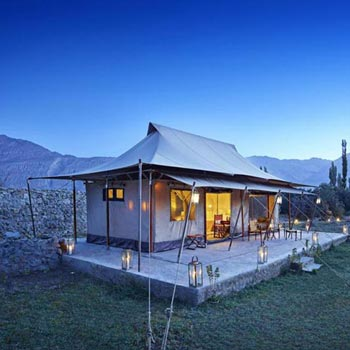 6 Days TUTC Glamping in Ladakh Tour