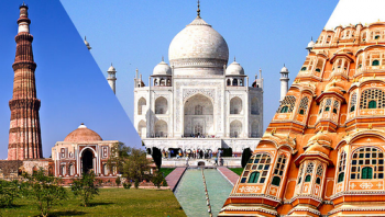 Golden Triangle from Goa Tour