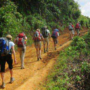 Trekking from Yangon to Inle Lake Package