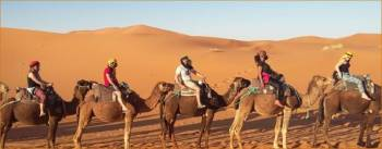 4 Days Private Fes Tour to Chefcahouen, Rabat and Medina in Marrakech Tour