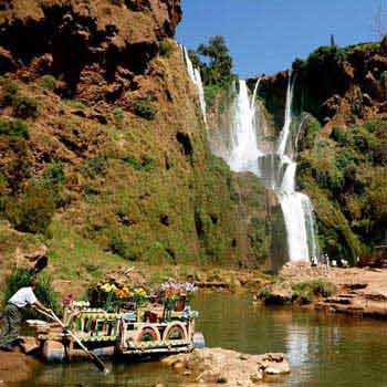 Private Day Trip from Marrakech to Ouzoud Waterfalls Tour