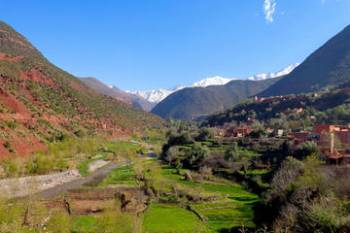 Private Marrakech to Valley Ourika Day Trip in 4x4 Tour