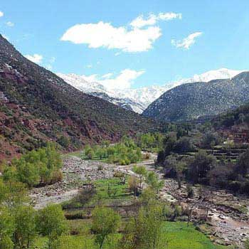 Atlas Mountains Day Trip from Marrakech to 3 Valleys Tour