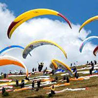 Paragliding, Trekking and Camping in Bir-Billing