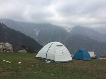 Trek to triund Camping at Gallu Tour