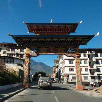 Phuentsholling, Thimpu Tour