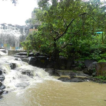 Ghatarani Waterfall Temple