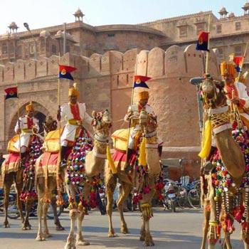 Jaipur (2) - Mandawa (1) - Bikaner (1) - Jodhpur (2) – 6 Nights / 7 Days Tour